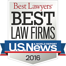 2016 Ranked Best Law Firm