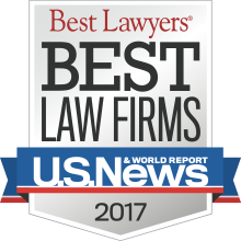 2017 Ranked Best Law Firm