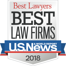 2018 Ranked Best Law Firm