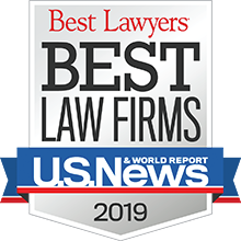 2019 Ranked Best Law Firm