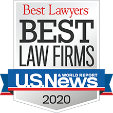 2020 Ranked Best Law Firm