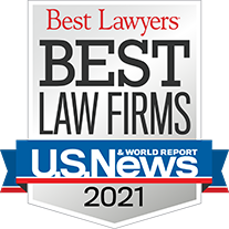 2021 Ranked Best Law Firm